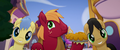 Big Mac eating pie with family members MLPTM.png