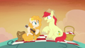 Bright Mac and Pear Butter on a hill together S7E13.png