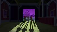 CMC at the barn door S3E04
