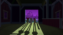 CMC at the barn door S3E04