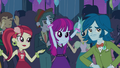 Canterlot High students in the gym EG2.png