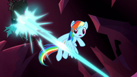 Changeling struck by Luna's magic S5E13