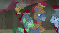 Commander Ironhead and Royal Legion planning S7E16