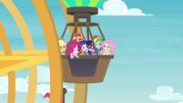 Equestria Girls riding the Ferris wheel EGROF