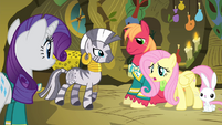 Fluttershy 'are we ever going to find a deep voice' S4E14