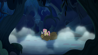 Fluttershy and animals hear a sound S6E15
