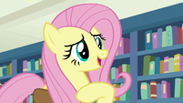 Fluttershy introducing herself S9E21