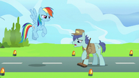 "Janitor Pony ""well, they waited"" S9E26"