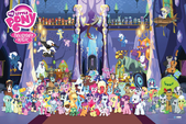 MLP Season Five Character poster