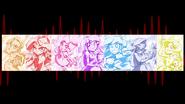Mane 7 artwork in the credits EG2
