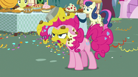 "Pinkie Pie ""you just said they were delicious"" S7E23"