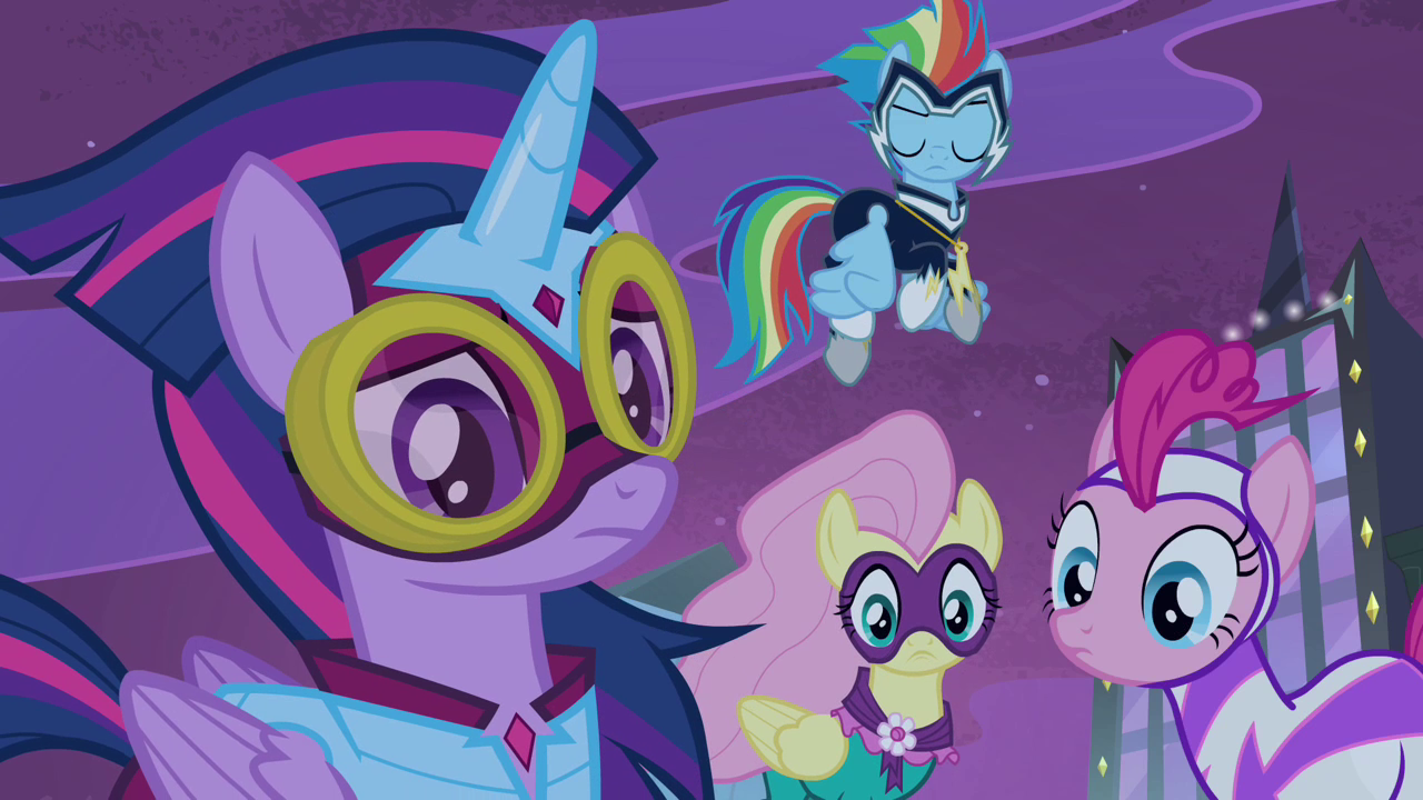 image power ponies listening to spike s4e06 png my little pony