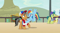 "Rainbow Dash ""we need to get started"" S9E6"
