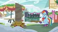 "Rainbow Dash ""what do you want, Discord?"" MLPBGE"