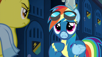 Rainbow Dash --contribute to the 'Bolts-- S6E7