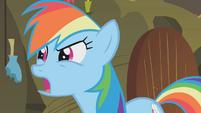 Rainbow Dash -what about the cauldron-- S1E09