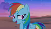 Rainbow Dash -which means- S7E18