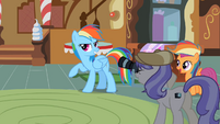 Rainbow Dash mill ponies S2E8