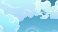 Rainbow Dash spinning S3E07