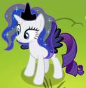 Rarity Princess Luna Costume ID S4E21