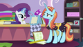 Rarity finishes her sketching S7E6.png