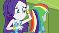 Rarity mistaking Derpy for Rainbow Dash EGDS12b.png