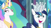 "Shining Armor ""to a whole new level"" S9E4"