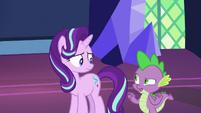 Spike -seem like the 'friendship' type- S7E26
