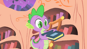 Spike found the book S1E24