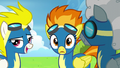Spitfire notices Rainbow on the runway S6E7.png