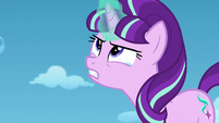 Starlight Glimmer teary-eyed and angry S5E26