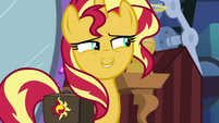 "Sunset Shimmer ""don't draw too much attention"" EGS3"