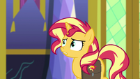 Sunset Shimmer starting to get nervous EGFF