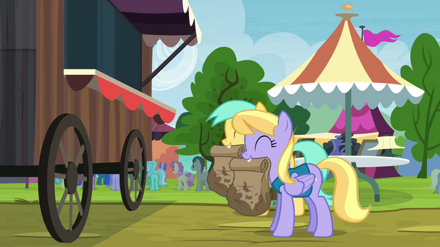 File:Sunshower Raindrops and Cloud Kicker with paper bags S4E22.png