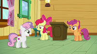 Sweetie Belle --Wow, you're right!-- S6E4