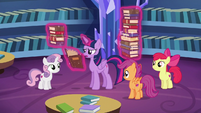 Twilight Sparkle --you just missed her-- S6E19