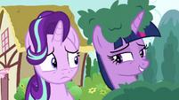 Twilight Sparkle --you like music, right--- S6E6