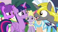 Twilight and Royal Guard S4E01