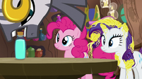 Zecora sets potion bottle on the table S7E19