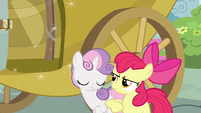 Apple Bloom elbow Sweetie Belle S3E4