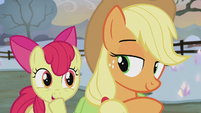 Apple Bloom giggling S5E20
