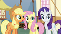 """Applejack """"what's the first clue?"""" S5E19.png"""