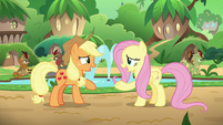 Applejack and Fluttershy -go ahead!- S8E23