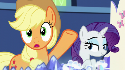 Applejack and Rarity S5E16