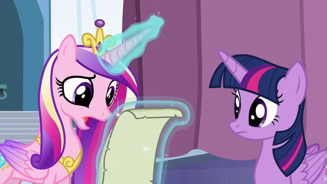 """File:Cadance """"It looks right to me, but"""" S6E2.png"""