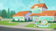 Exterior view of Canterlot animal shelter EGDS23