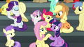 "Fluttershy ""done getting their snacks"" S6E7.png"