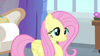 Fluttershy feeling proud of herself MLPS3