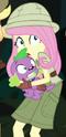 Fluttershy jungle adventurer ID EGS1