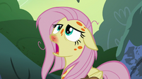 Fluttershy looking weak and dizzy S7E20